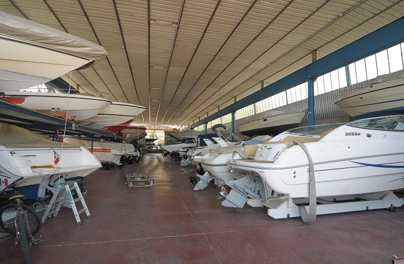 Opslaan Bootstalling boten Comomeer